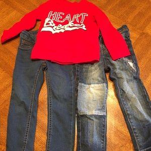 Boy's Heartbreaker & Jeans Collection 3T